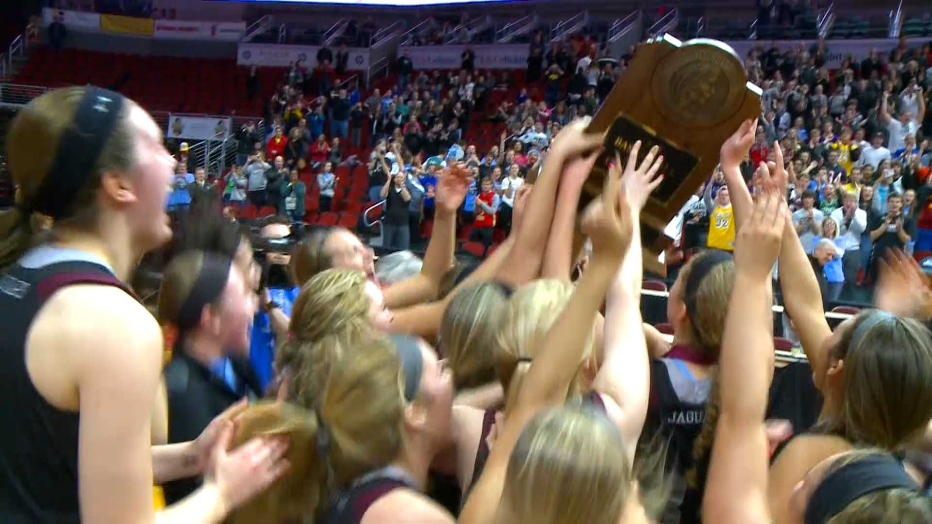 The Centennial Jaguars are state champs!