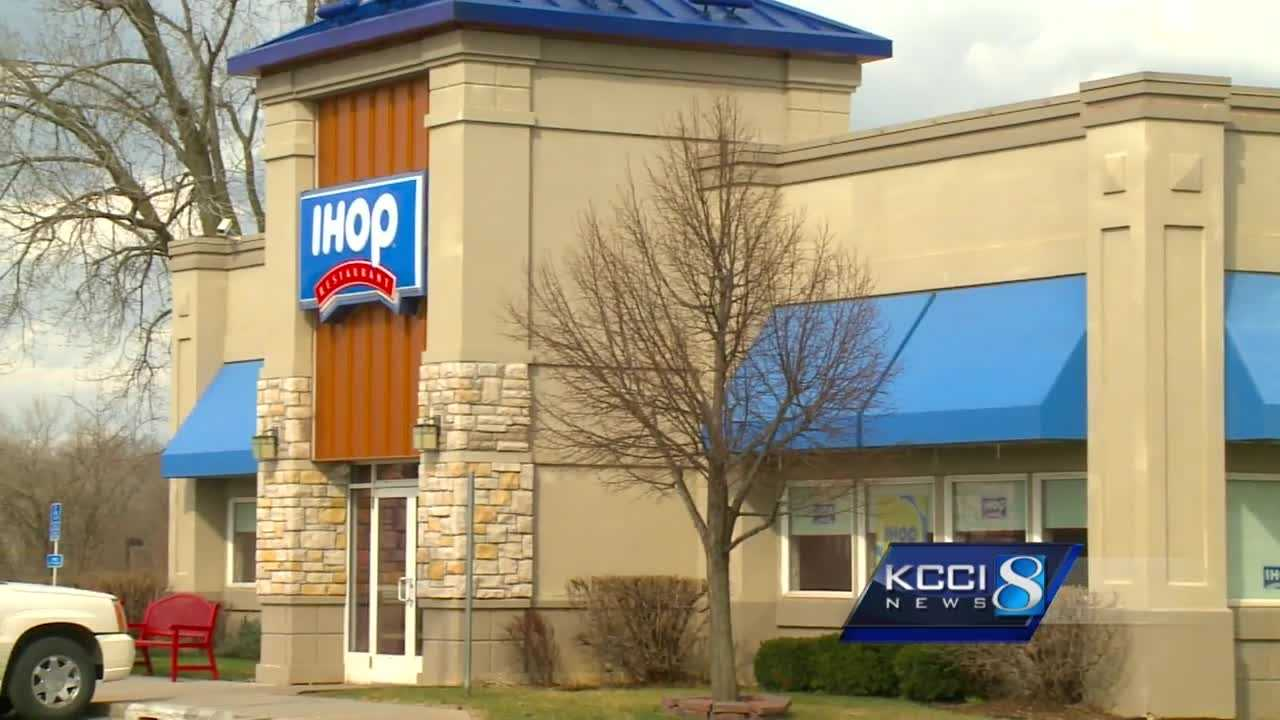 A woman is in jail after firing a gun at the IHOP on Southeast 14th Street in Des Moines.