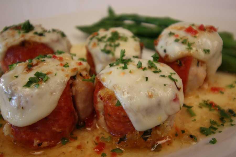 Jethroni Chicken Speroni