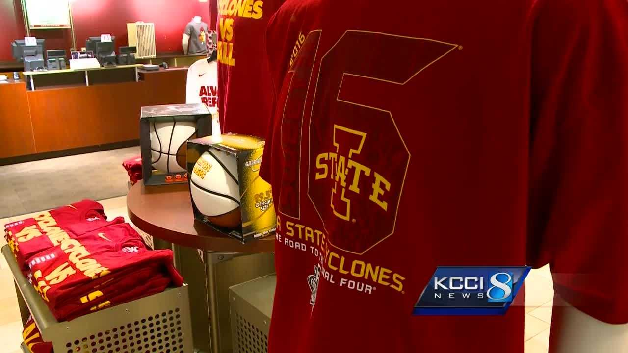 Ames stores selling Iowa State branded stuff are seeing a surge in sales.