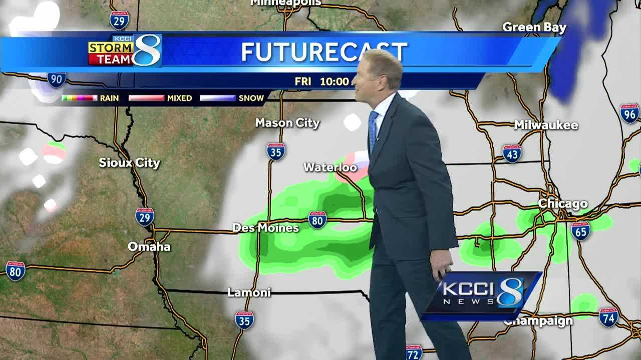 Meteorologist Kurtis Gertz's forecast for central Iowa.