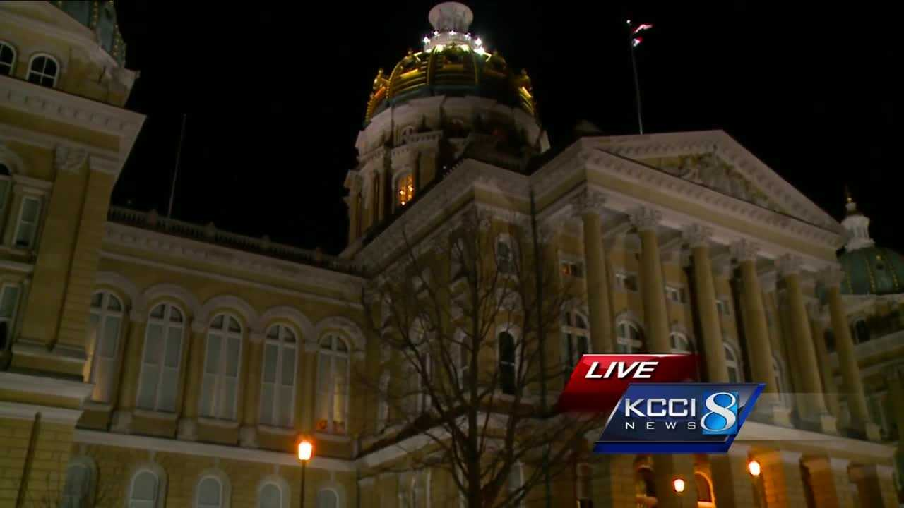 Musco hopes to show off the complete demonstration of new lights Tuesday night for state leaders, including Gov. Terry Branstad