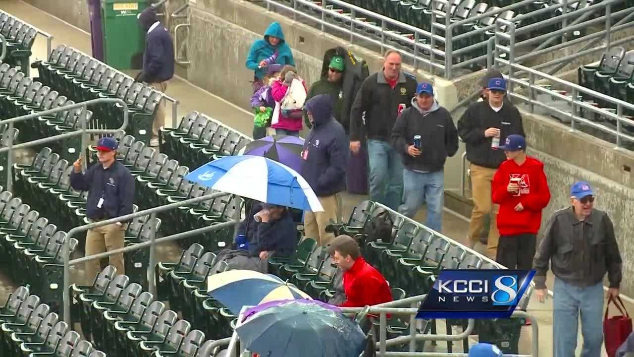 Iowa went cold on opening day.