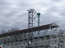 KCCI's Eric Hanson captured these new photos of the ride under construction.