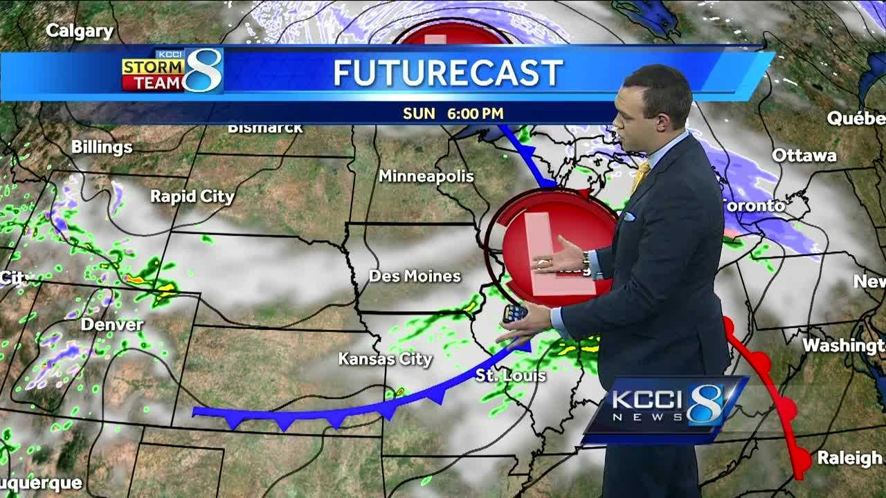 KCCI Meteorologist Frank Scaglione's forecast for Iowa