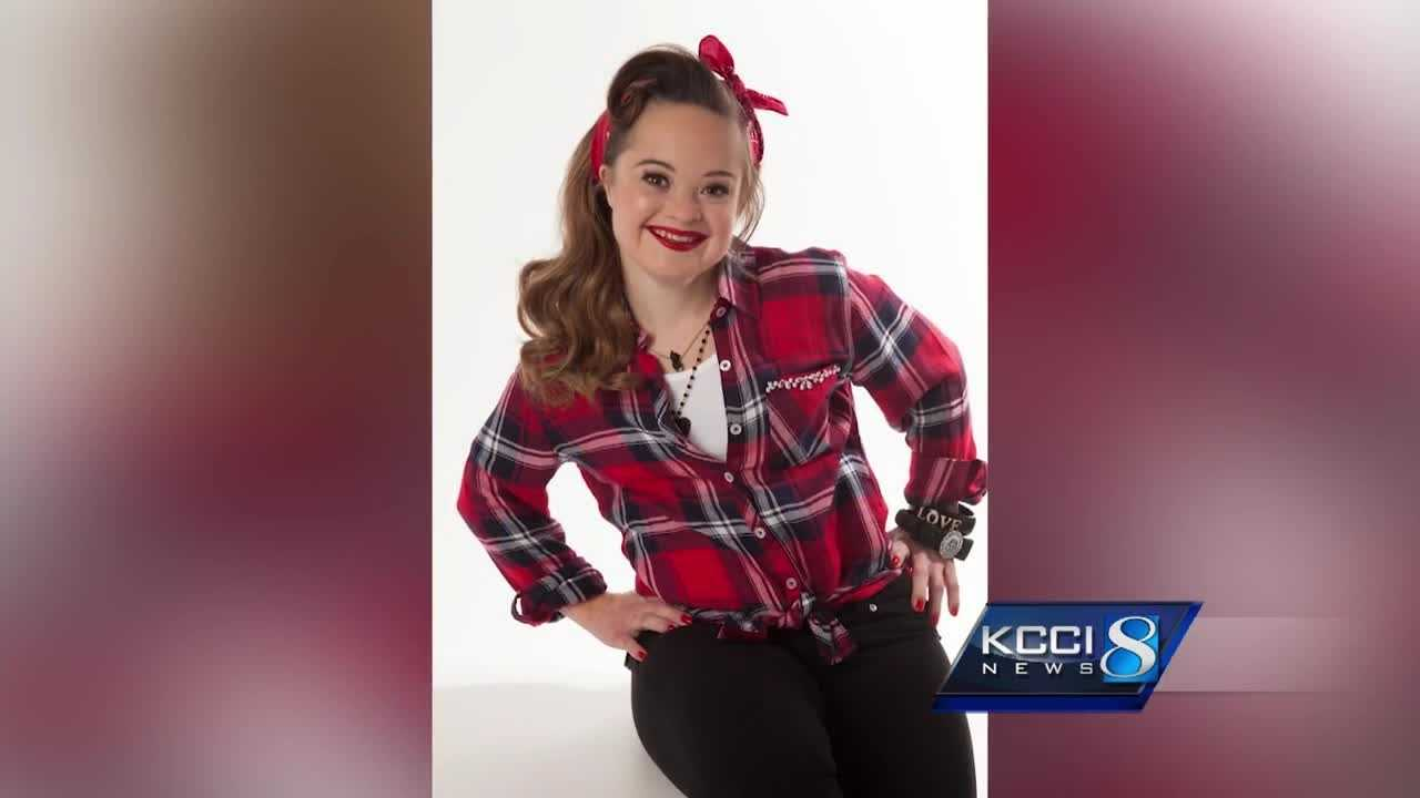 Katie Meade is the first person with Down Syndrome to become the face of a beauty product campaign.