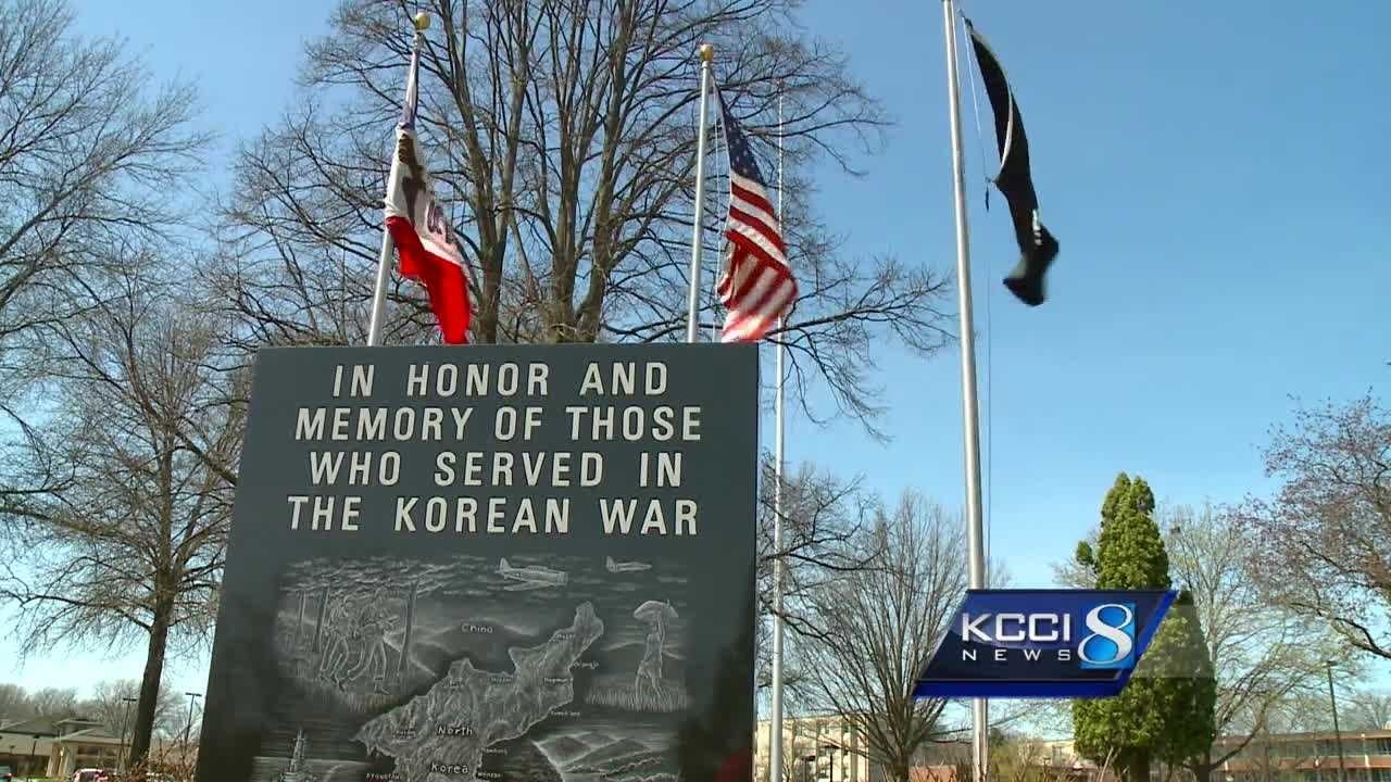 Iowans will gather on a quiet hillside Monday to honor an 81-year-old veteran they never knew.