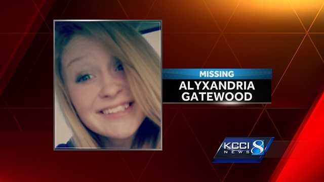 "Alyxandria Sky Gatewood is described as a 5'03"", 112 pound, white female, with brown shoulder-length hair."