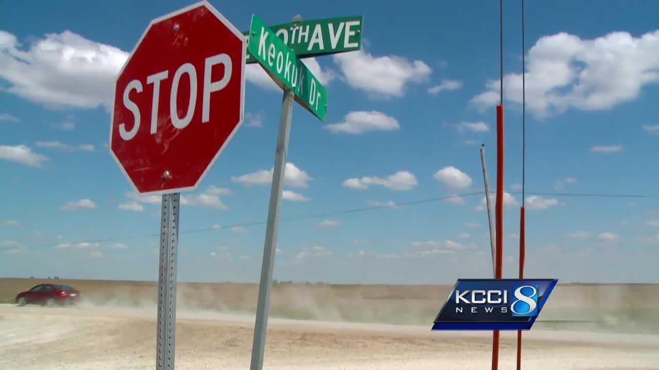 stolen road signs