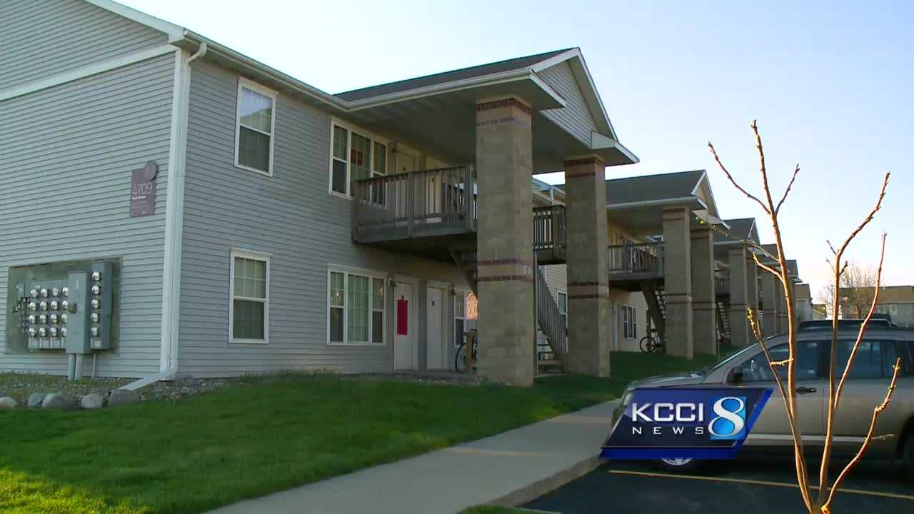 Iowa State University police are searching for five men who are accused of burglarizing an Ames apartment Thursday afternoon.
