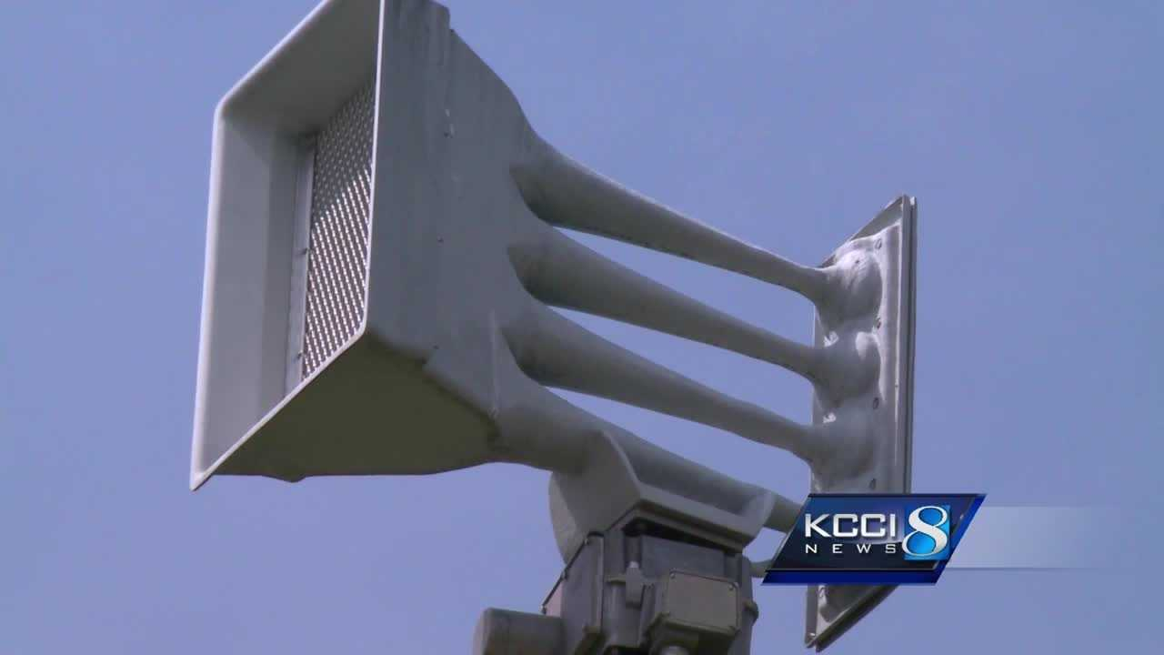 Johnston officials announced Tuesday that problems with their severe weather sirens have been resolved.