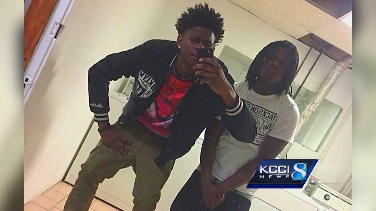 Marvin Holmes, 15, was charged with first-degree murder in connection with the case. Holmes' mother spoke exclusively to KCCI's Ryan Smith.