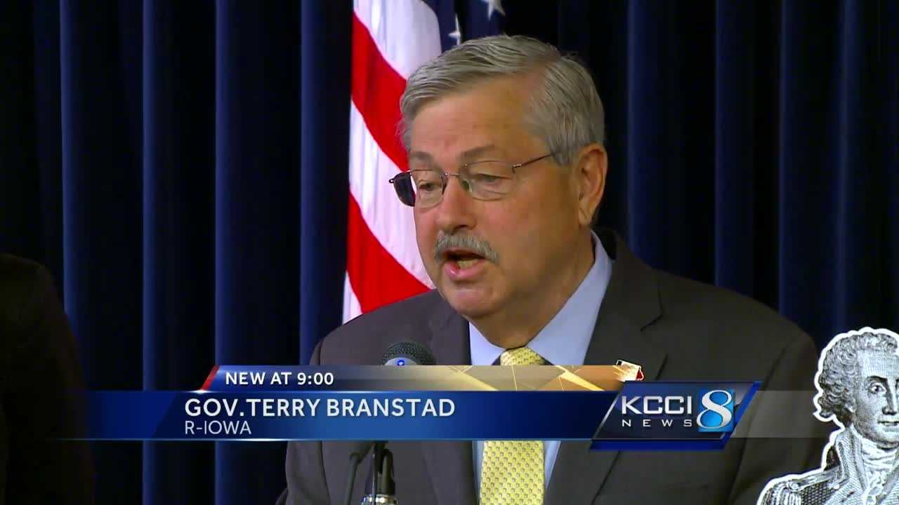 Iowa Governor Terry Branstad announced Monday that he now supports Donald Trump for president.
