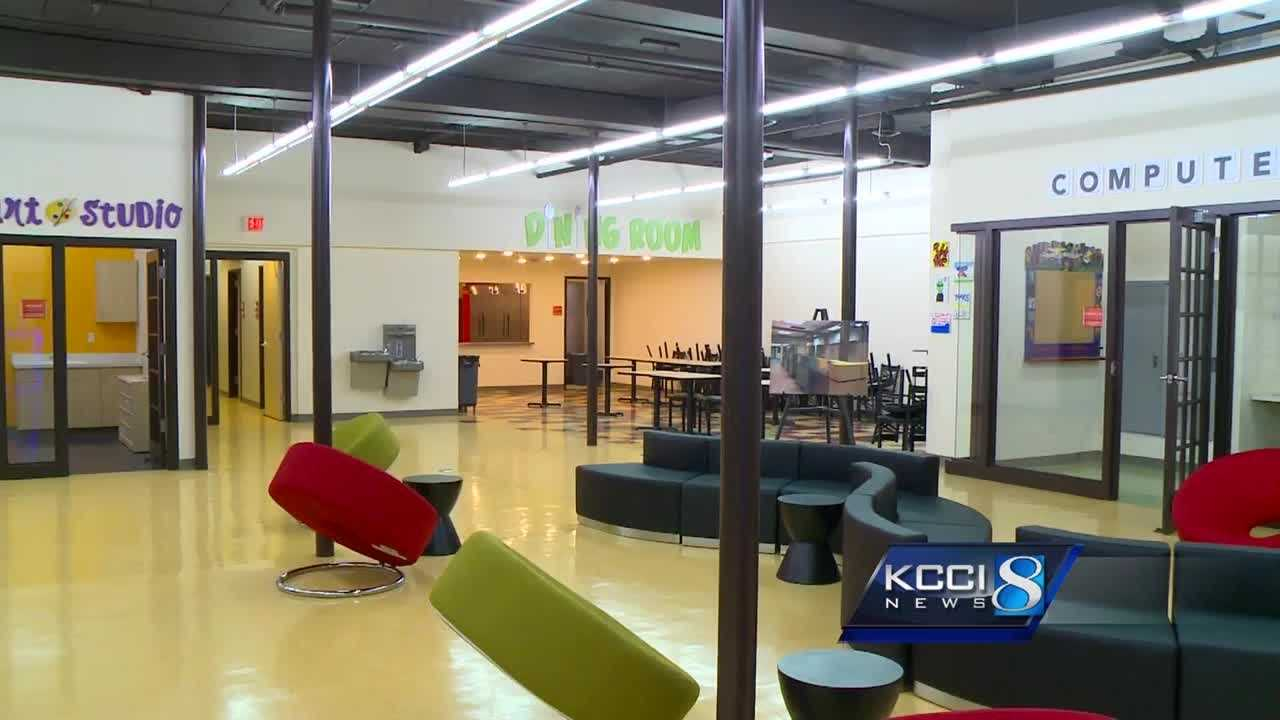 The Iowa State Bank Building has transformed into a state-of-the-art facility that will house the Iowa Homeless Youth Center.