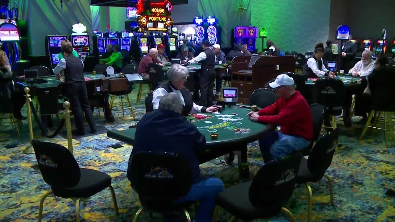 Prairie Meadows officials say about 92 percent of the revenue goes back to gamblers.