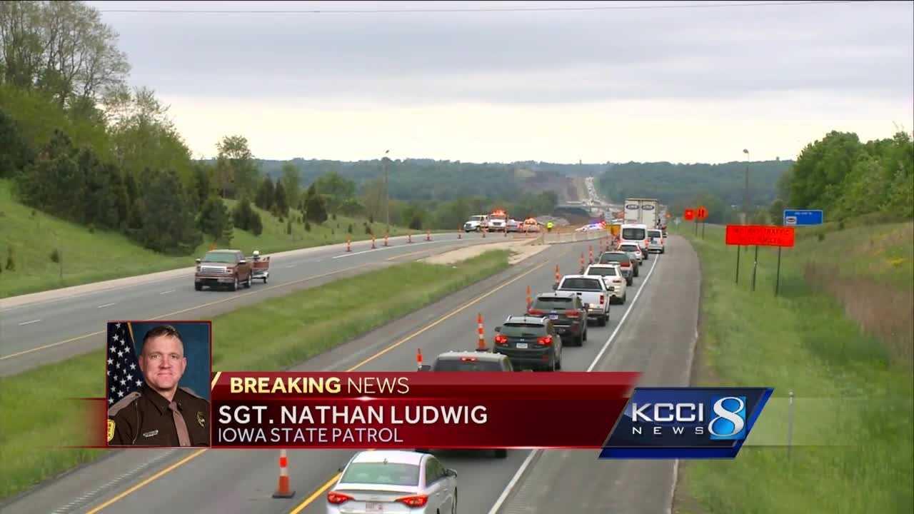 Crash on Interstate 35