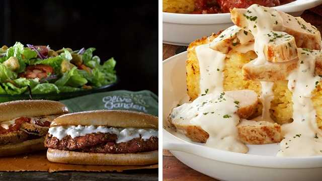 5 new olive garden menu items coming this week - Olive Garden Lunch