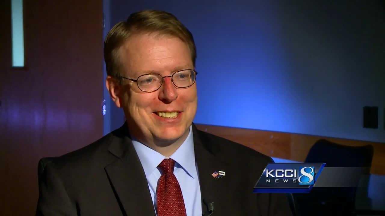 Iowa senator Rob Hogg is one of four Democrats running for U.S. Senate.