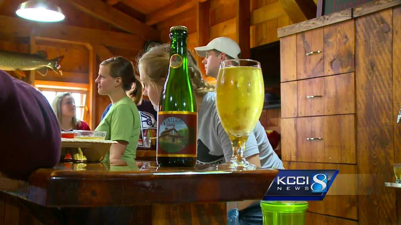 Winterset Cidery held its grand opening over the weekend.