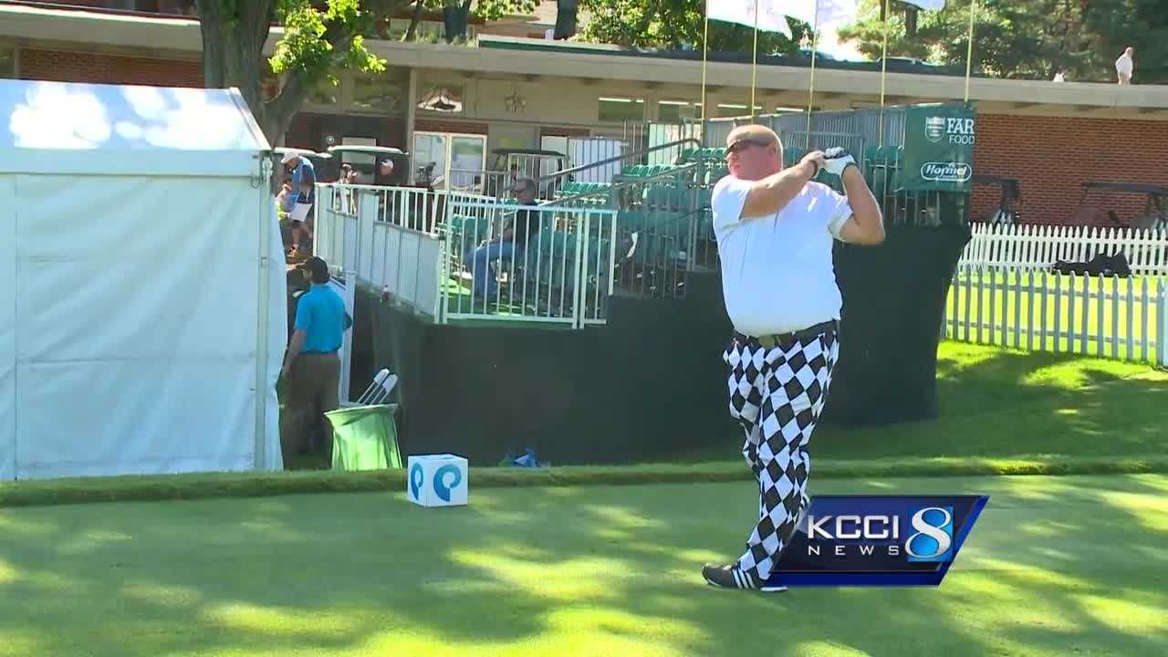 Sports director Andy Garman is at Wakonda County Club with action from day two of the Pro Am!