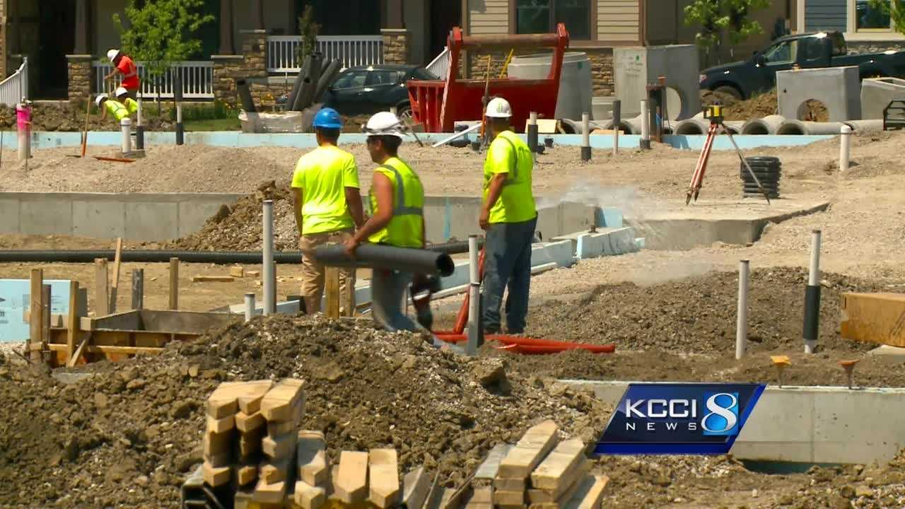Construction crews are out in full force in West Des Moines.