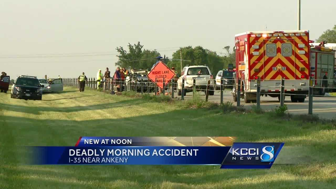 One person died and another was seriously injured in a Friday morning crash on I-35.