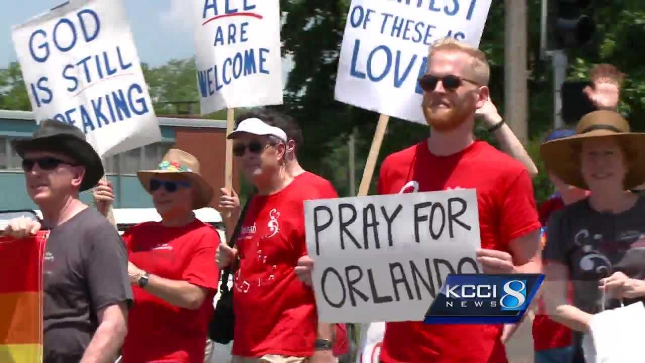 The LGBT community in Des Moines is speaking out in the wake of the worst mass shooting in U.S. history.