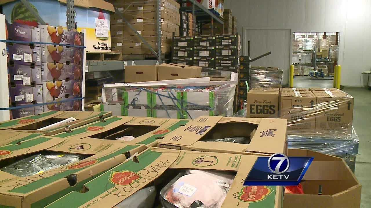Food bank officials say the need is great during the summer.