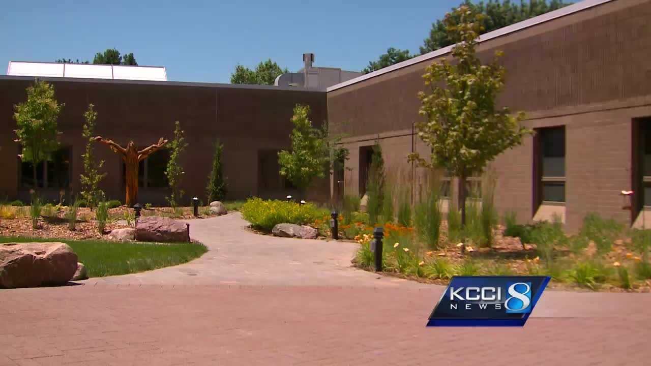 Family and friends raised more than $300,000 to turn a cement courtyard into a healing garden
