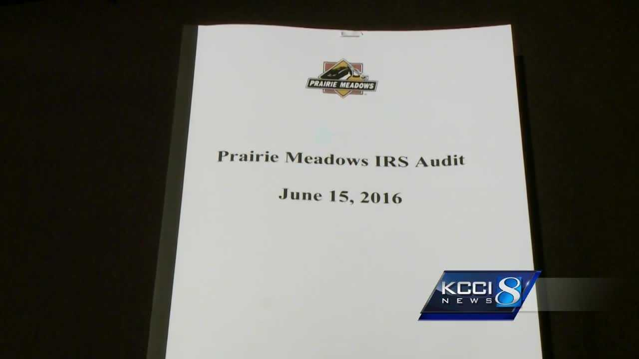 Prairie Meadows has filed an appeal.