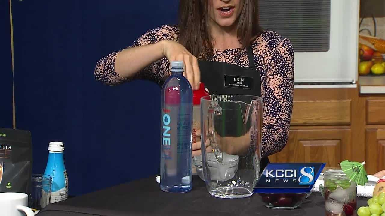 Registered dietitian Erin Good joins KCCI this Father's Day for a cool and sweet drink.