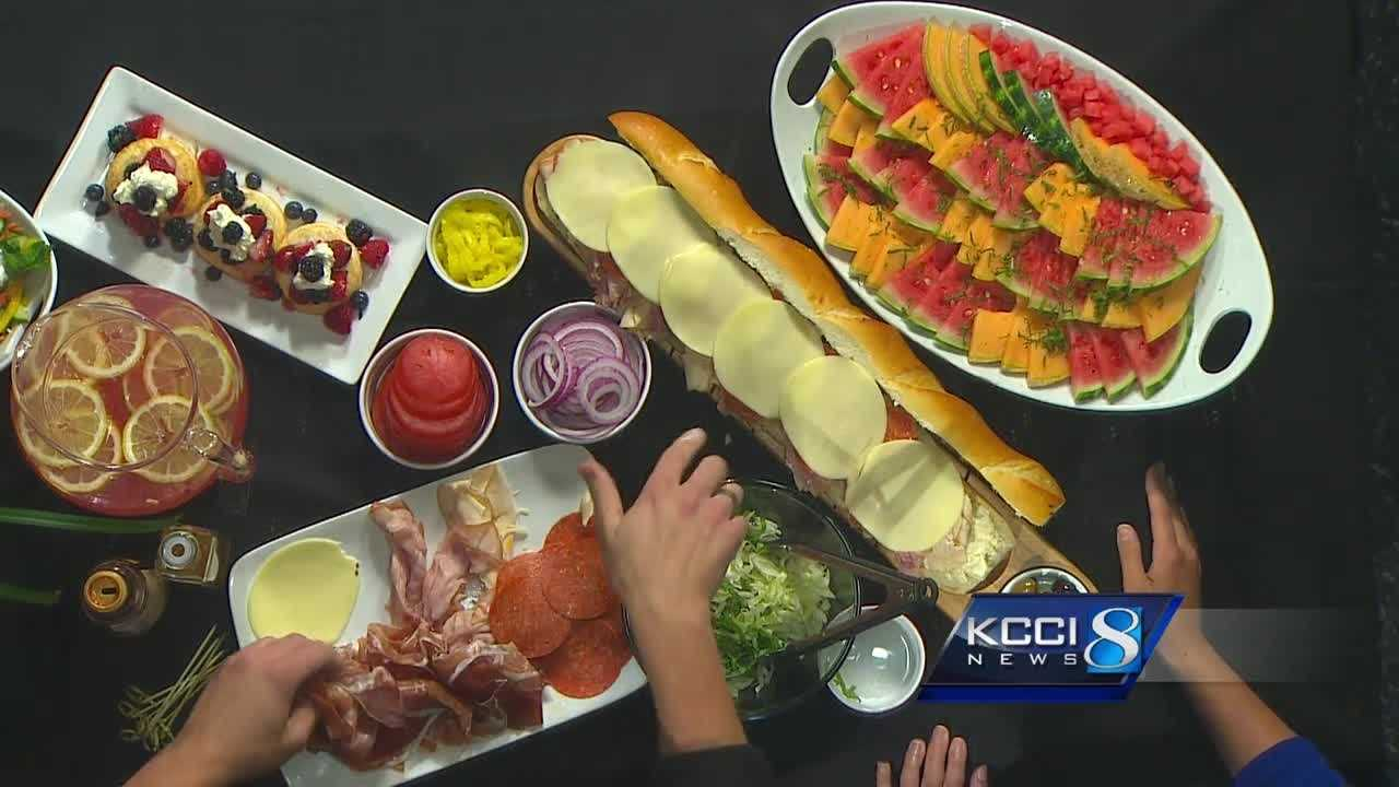 Hy-Vee Chef Andrew stops by KCCI to show you how to make a perfect picnic favorite.