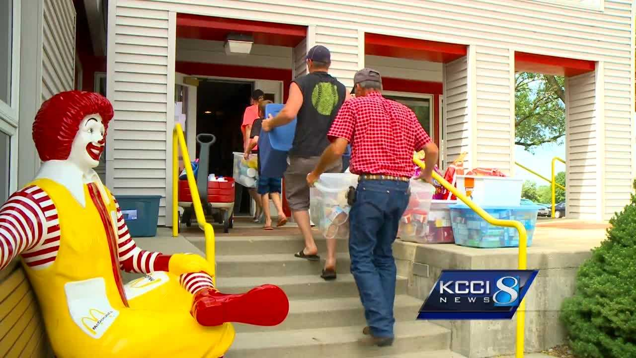 Though their baby boy died two years ago, an Iowa family has turned their grief into a way of giving back to the community and helping hundreds of families.