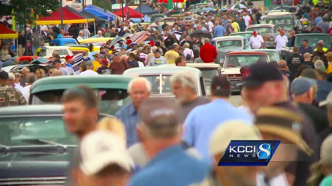 The 25th annual Goodguys Heartland Nationals Car Show continues Sunday at the Iowa State Fairgrounds.