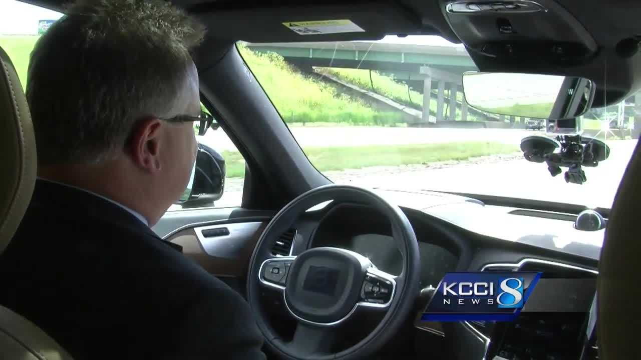 Experts at the University of Iowa are helping to test self-driving cars, so KCCI's Todd Magel is taking us for a spin tonight at 10 p.m.