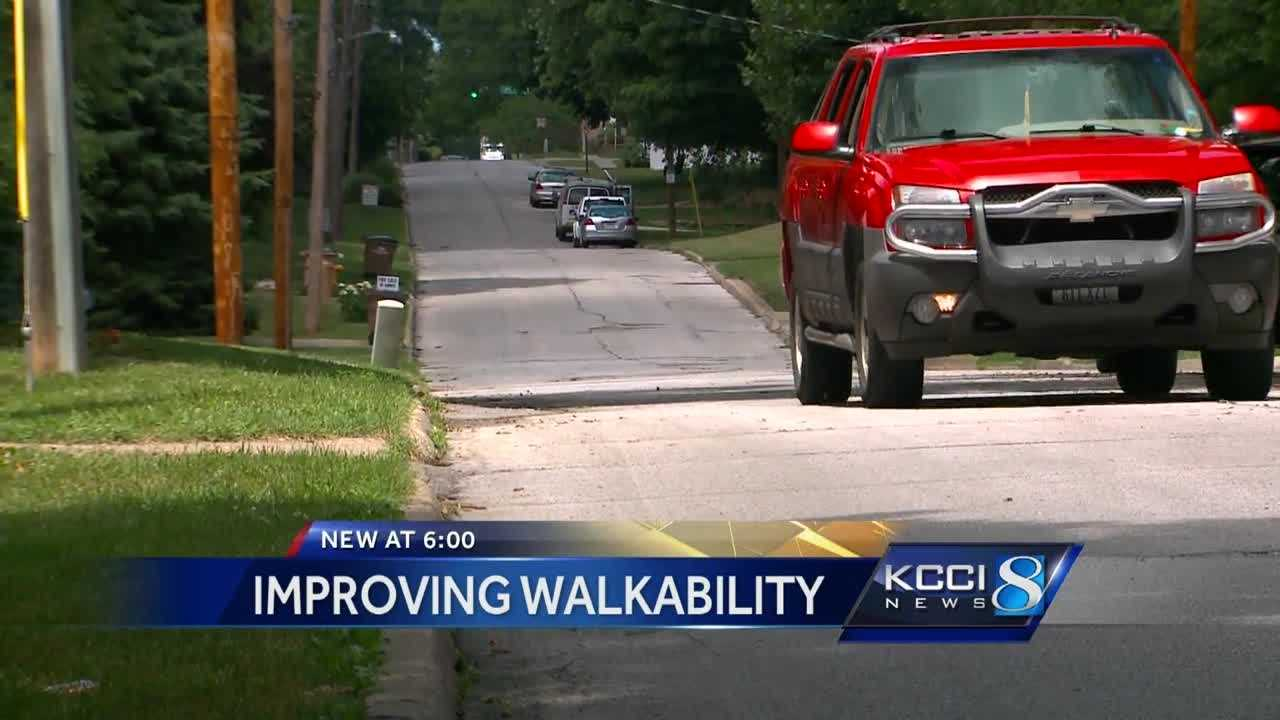 Just adding sidewalks isn't a simple task.