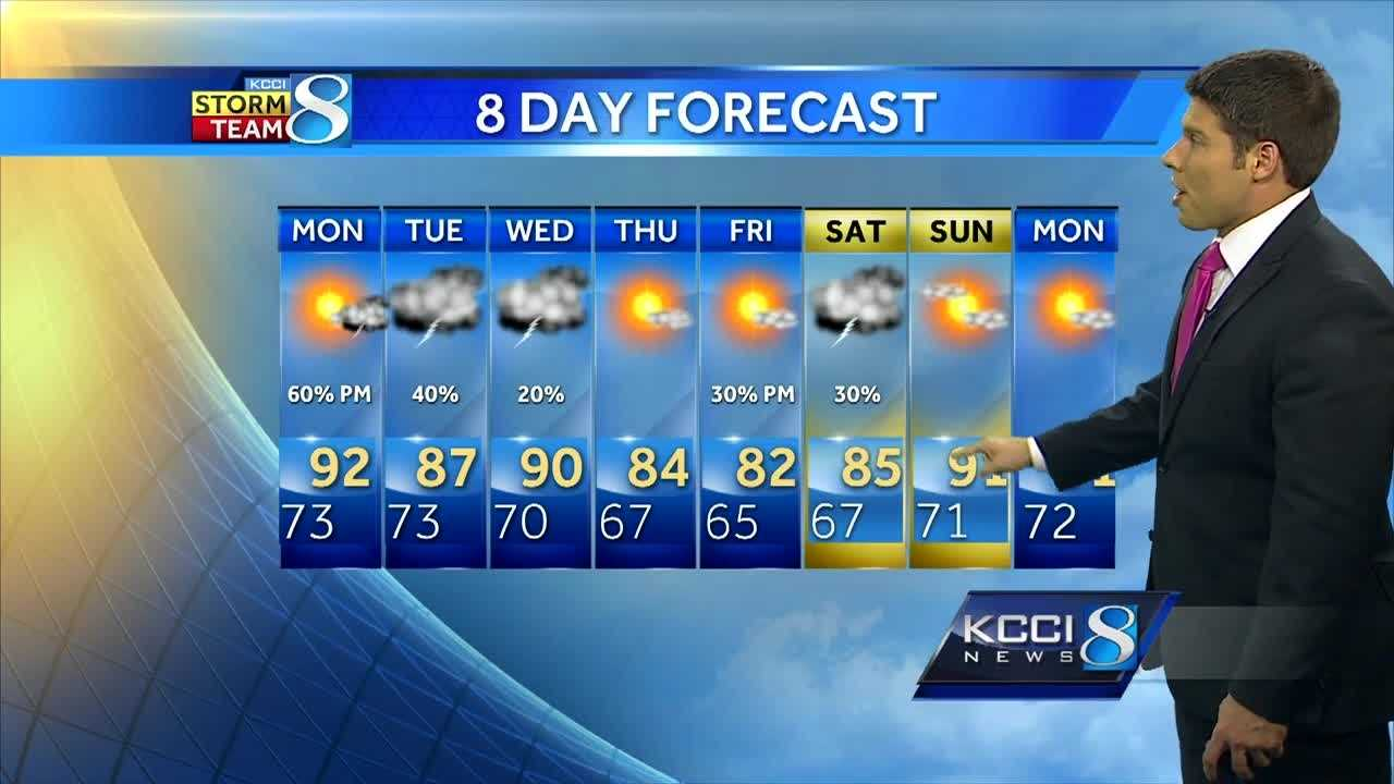 KCCI Meteorologist Jason Sydejko's forecast for central Iowa.