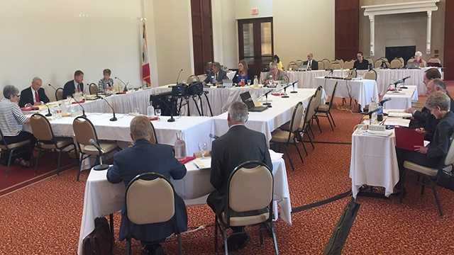 Iowa Board of Regents meeting at Iowa State University.