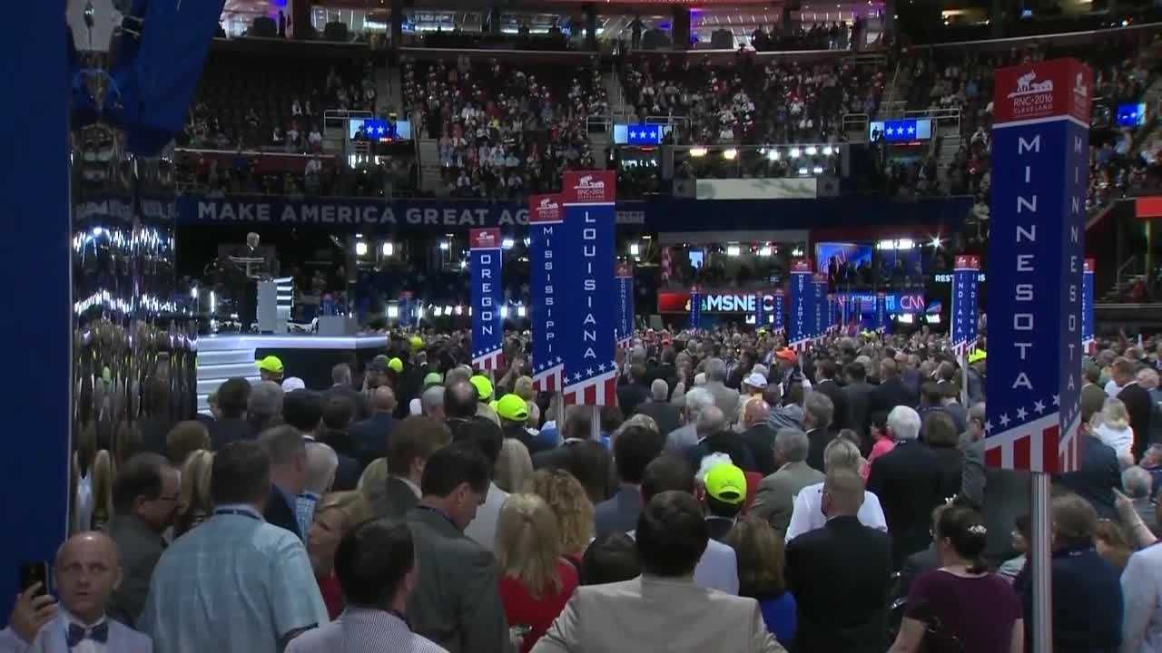 Chief Political Reporter Cynthia Fodor shows us how the Iowa delegates became caught in the middle of the chaos.