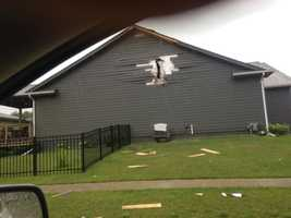 Lightning strike hits home in Adel, Iowa.