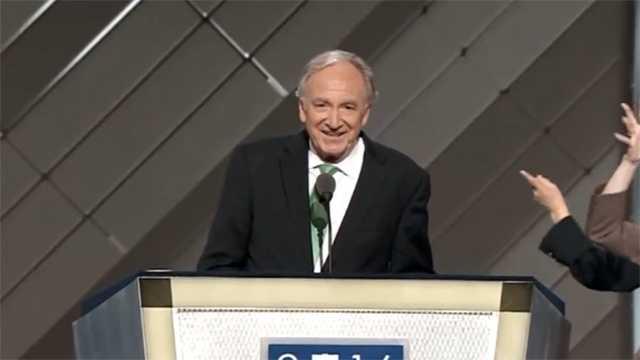 Former Sen. Tom Harkin at Democratic National Convention.