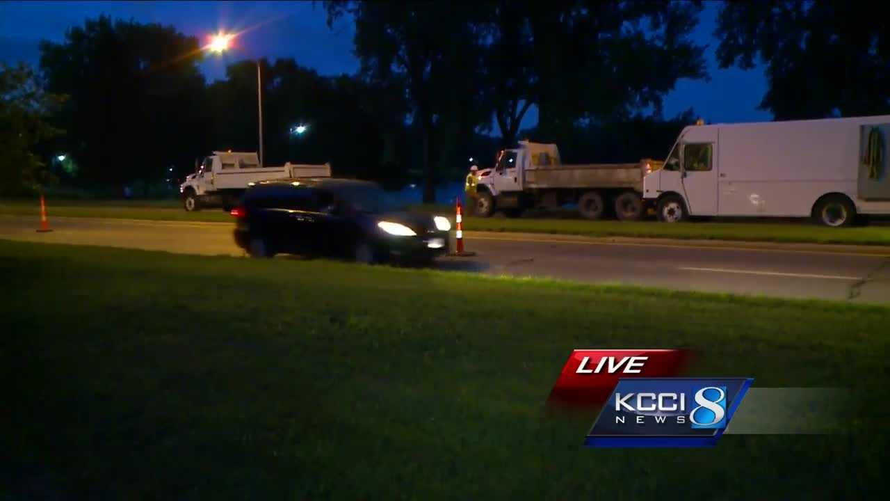 The incident happened shortly after 5 p.m. near the water treatment center by Gray's Lake.