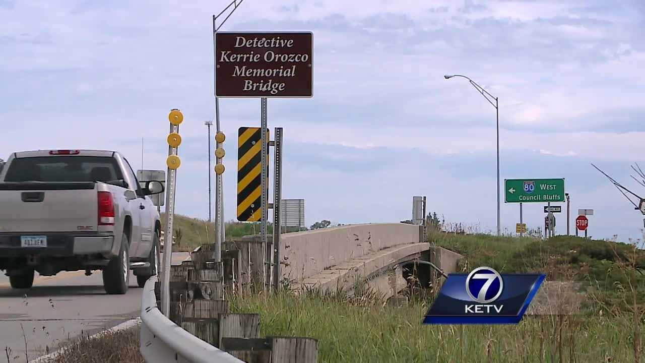 The Pottawattamie County Board of Supervisors approved plans last month to dedicate a county bridge to Officer Kerrie Orozco, and Tuesday it became official.