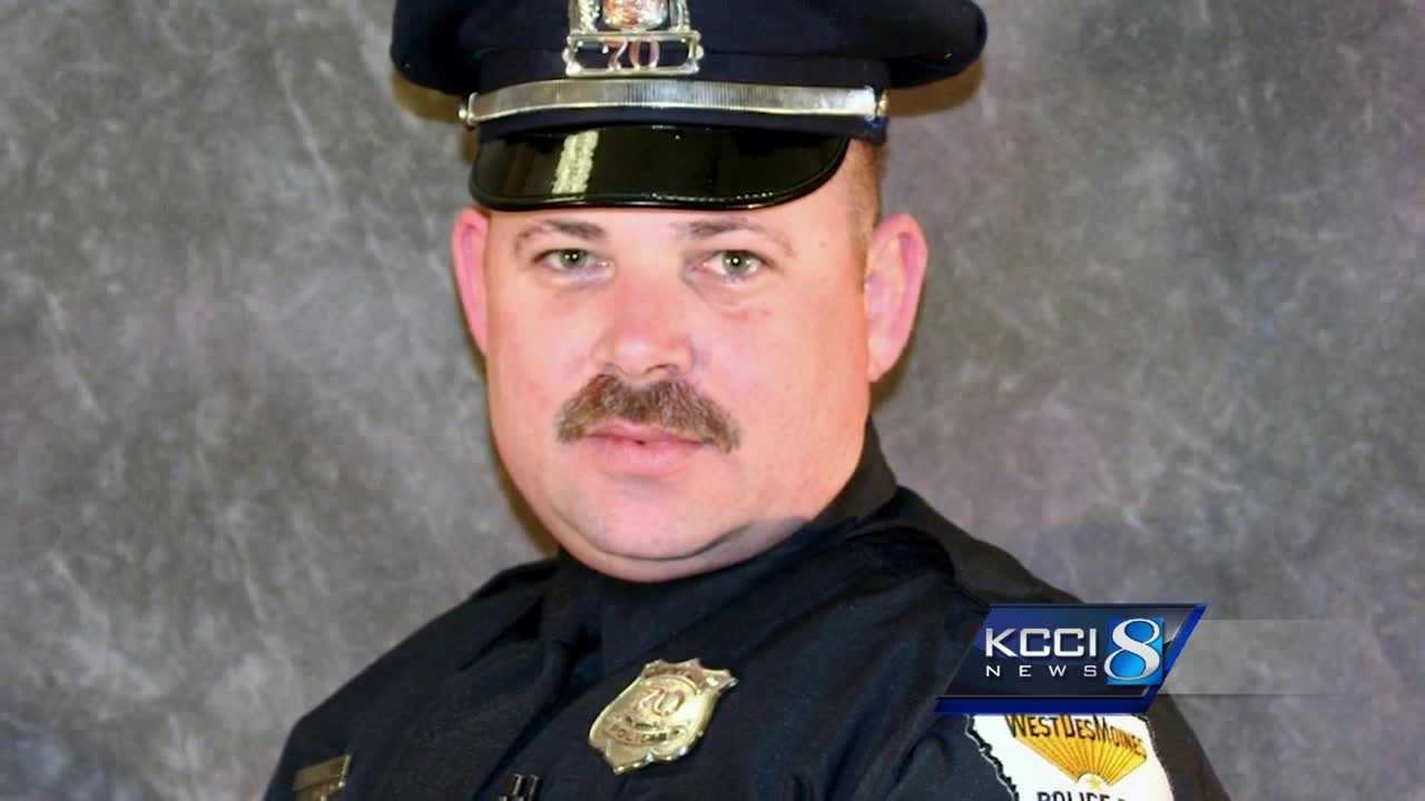 Officer Shawn Miller was killed in a car and motorcycle crash