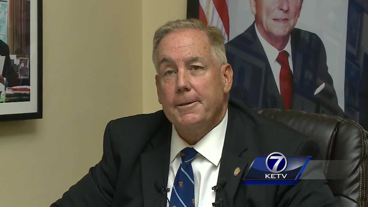 Nebraska State Senator Bill Kintner has been fined for improper use of government equipment