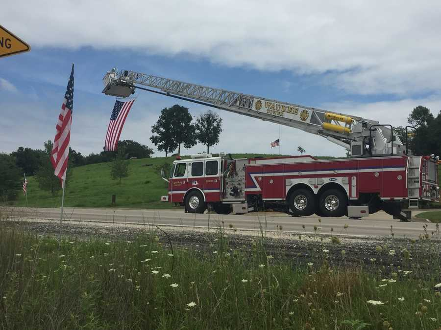 Officer Miller to be buried in the Iowa Veterans Cemetery near Van Meter.