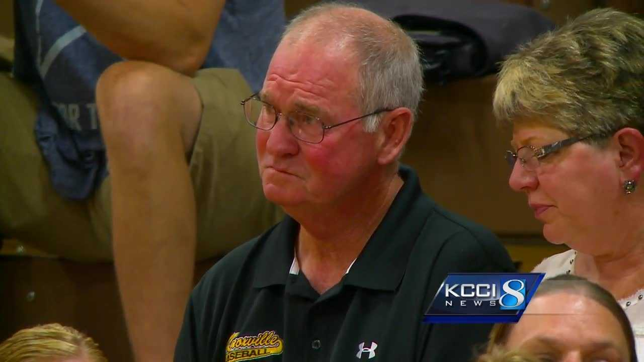 Nearly a hundred upset parents and players attended a Knoxville School Board meeting for Coach Joel Johnson.