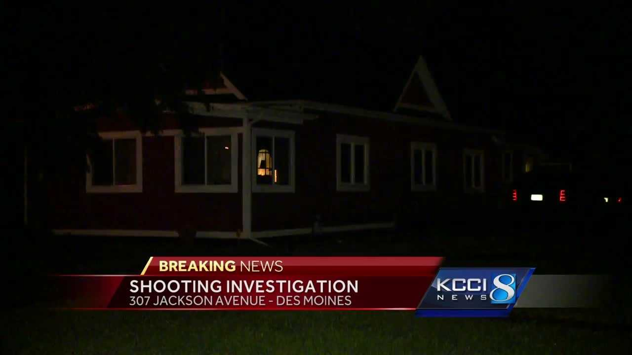 Des Moines police investigating after a man was shot.
