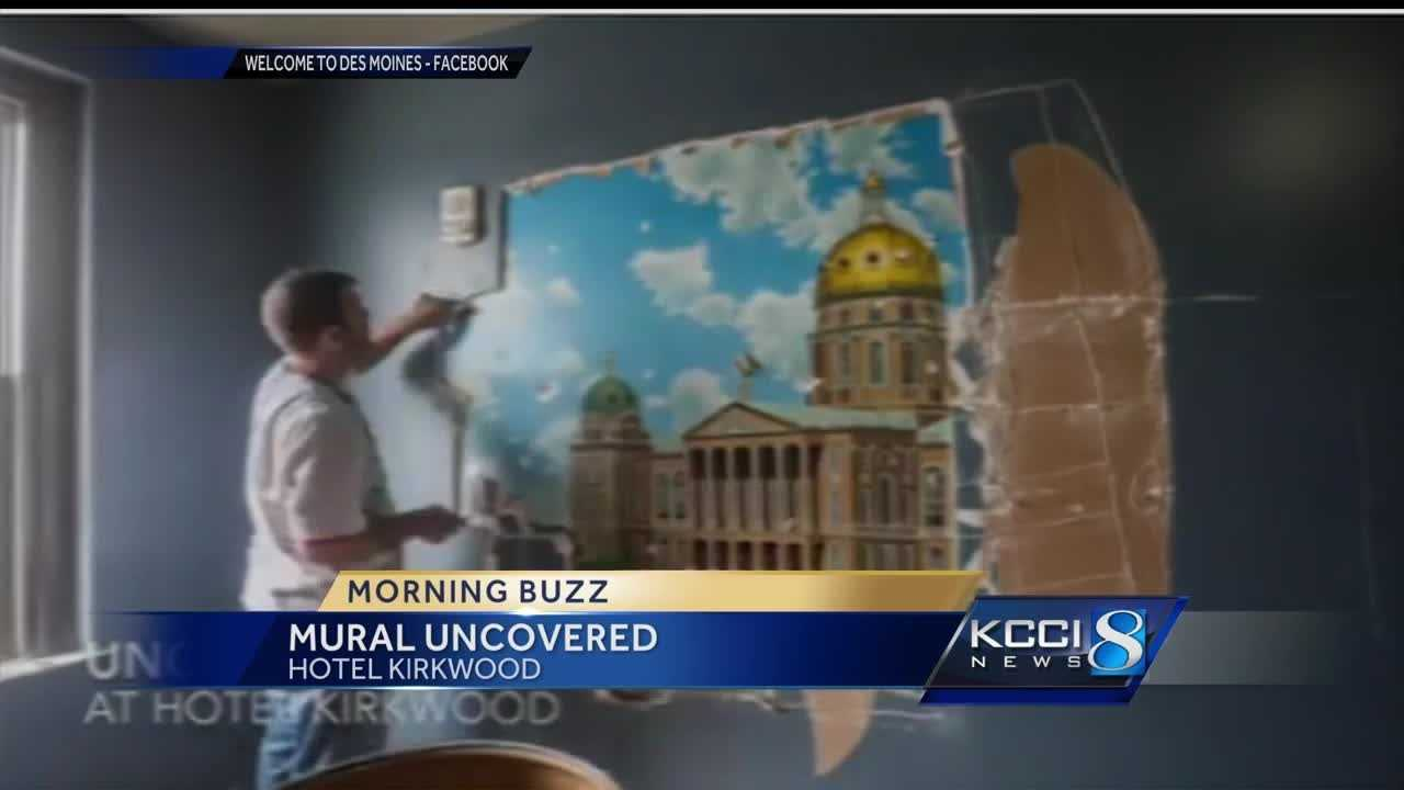 Construction crews working to renovate the Kirkwood Hotel have uncovered something amazing.