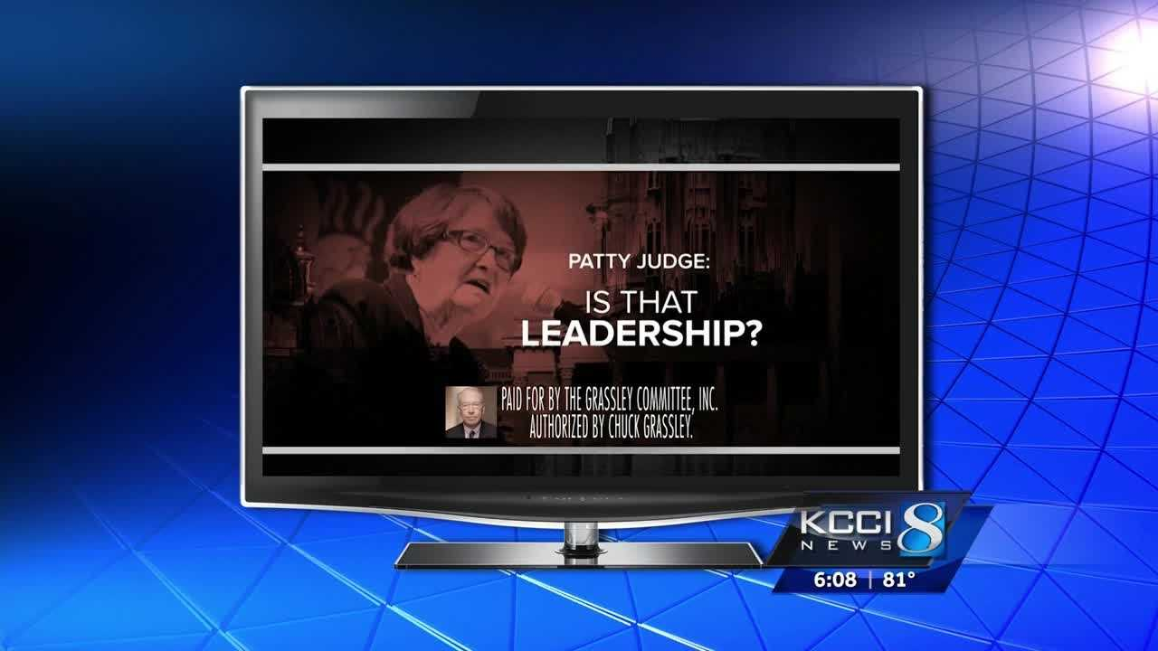 Sen. Charles Grassley launched a new attack on Patty Judge recently, focused on her record here at the Capitol.